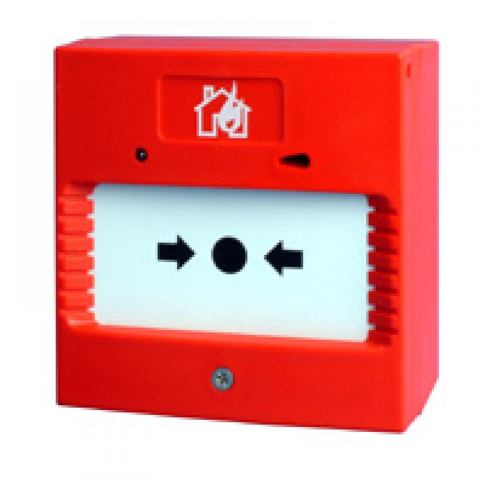 Channel Manual Surface Mounted Red Break Glass Call Point
