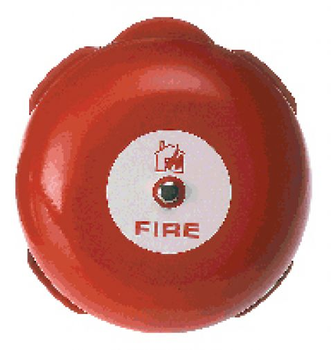 """Channel 6"""" Alarm Bell Red"""