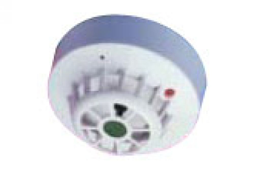 Channel Rate Of Rise Heat Detector C/W Base