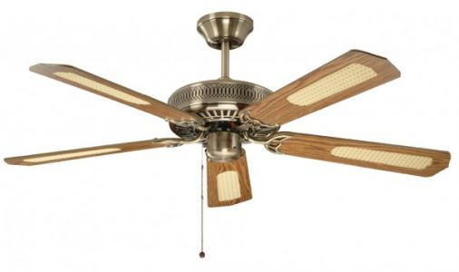 Fantasia Classic Antique Brass Ceiling Fan 132cm / 52""
