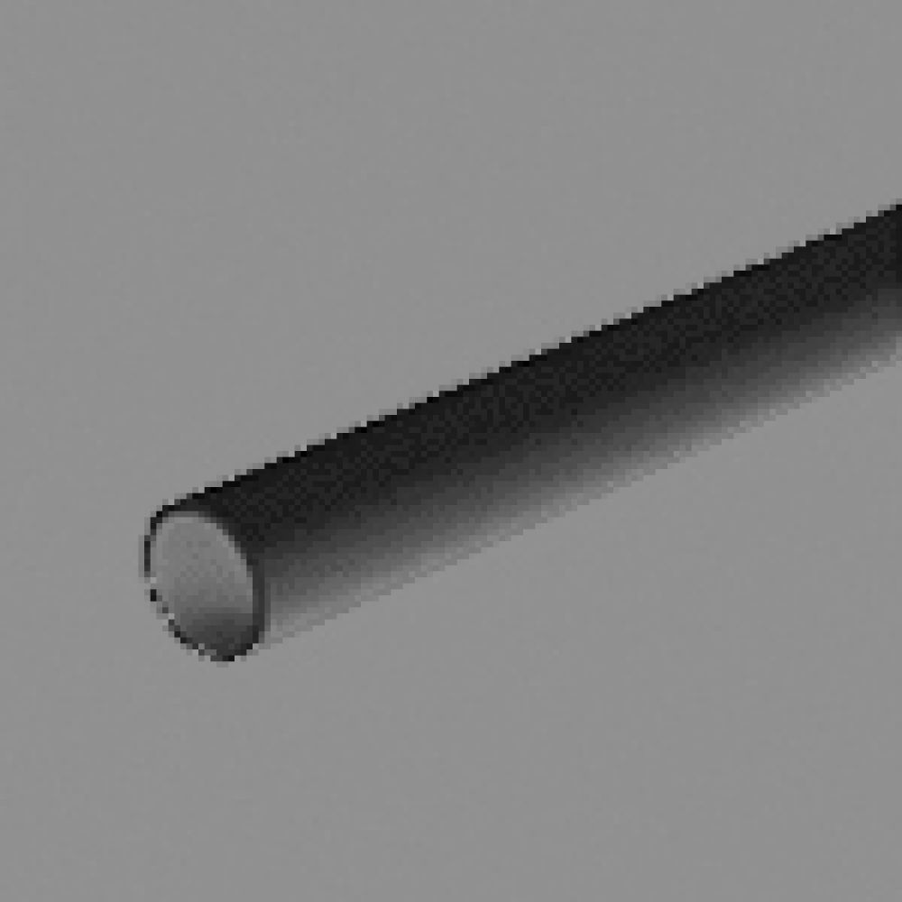 Marshall Tufflex Black Heavy Gauge Round Plastic Conduit 20mm x 3m