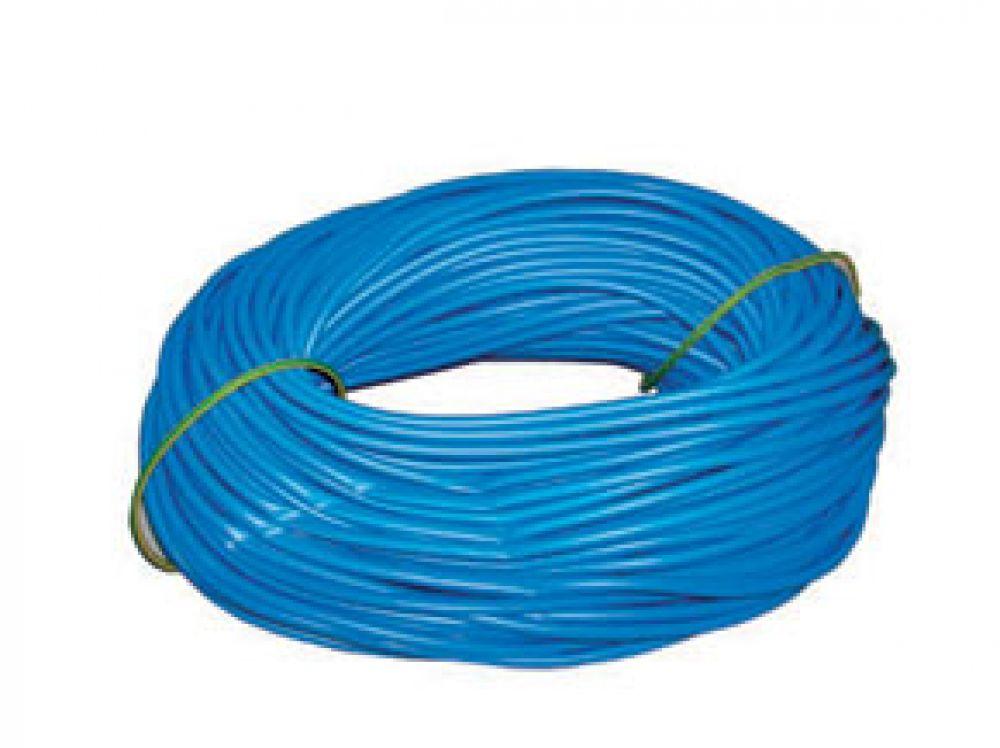Greenbrook 4mm Blue PVC Sleeving 100m Hank