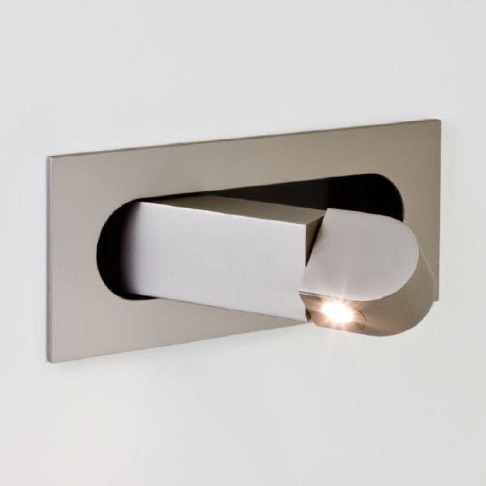 Astro 1323002 Digit 7165 Interior Lighting Wall Lights Matt Nickel IP20