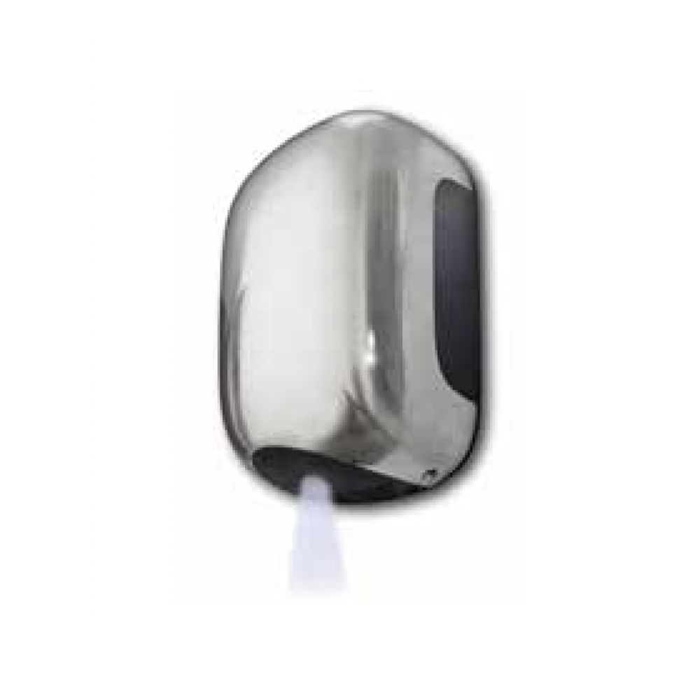 ecoDRY Mini Low Energy Warm Air Hand Dryer Satin Chrome