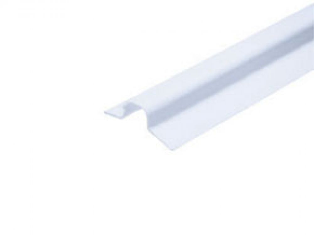 Greenbrook White PVC Channel 25mm x 2m