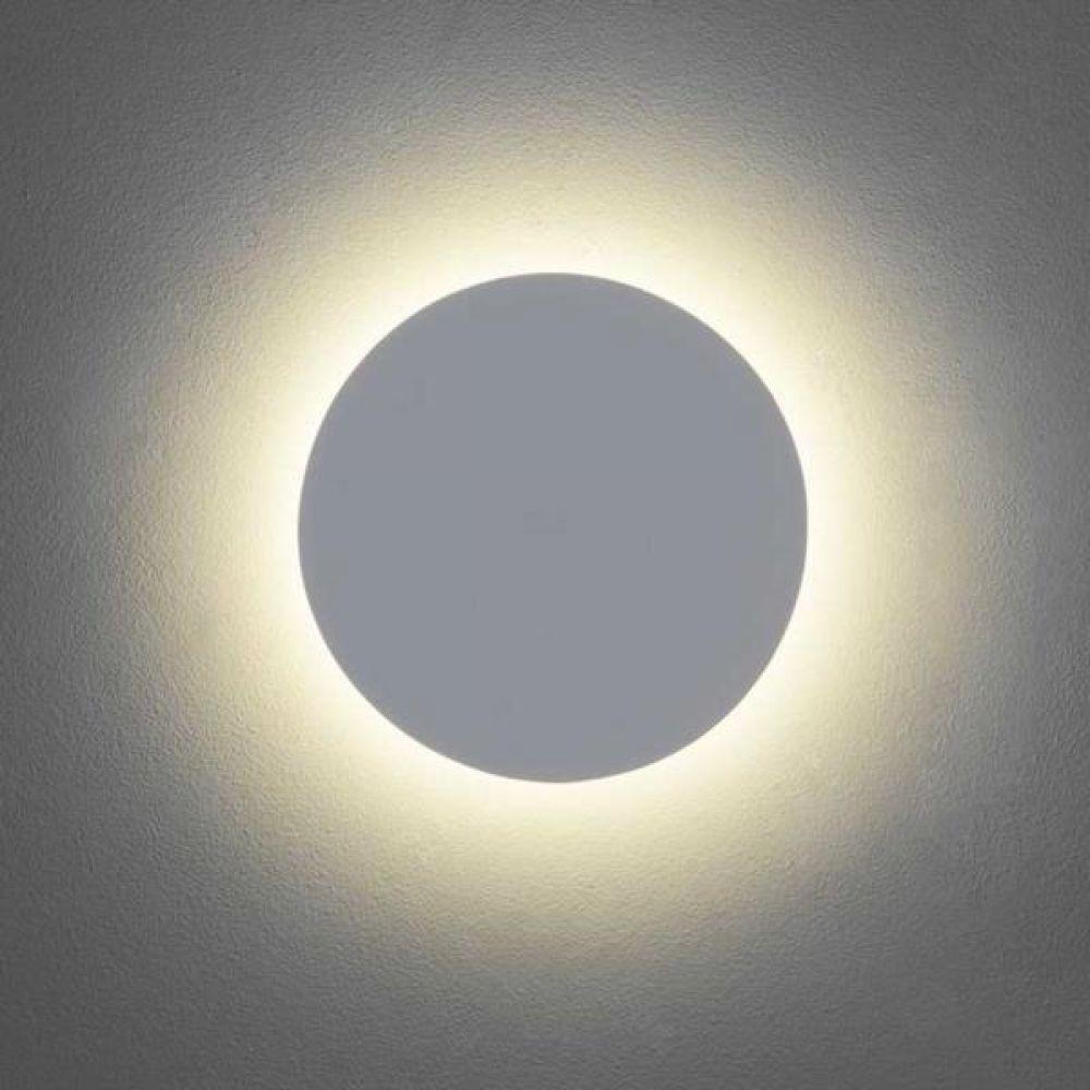 Astro Lighting 1333002 Eclipse Round 250 7249 Interior Wall Light. White Plaster Finish