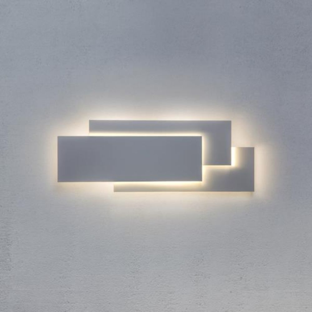 Astro Lighting 1352001 Edge 560 7385 Interior Wall Light. White Finish