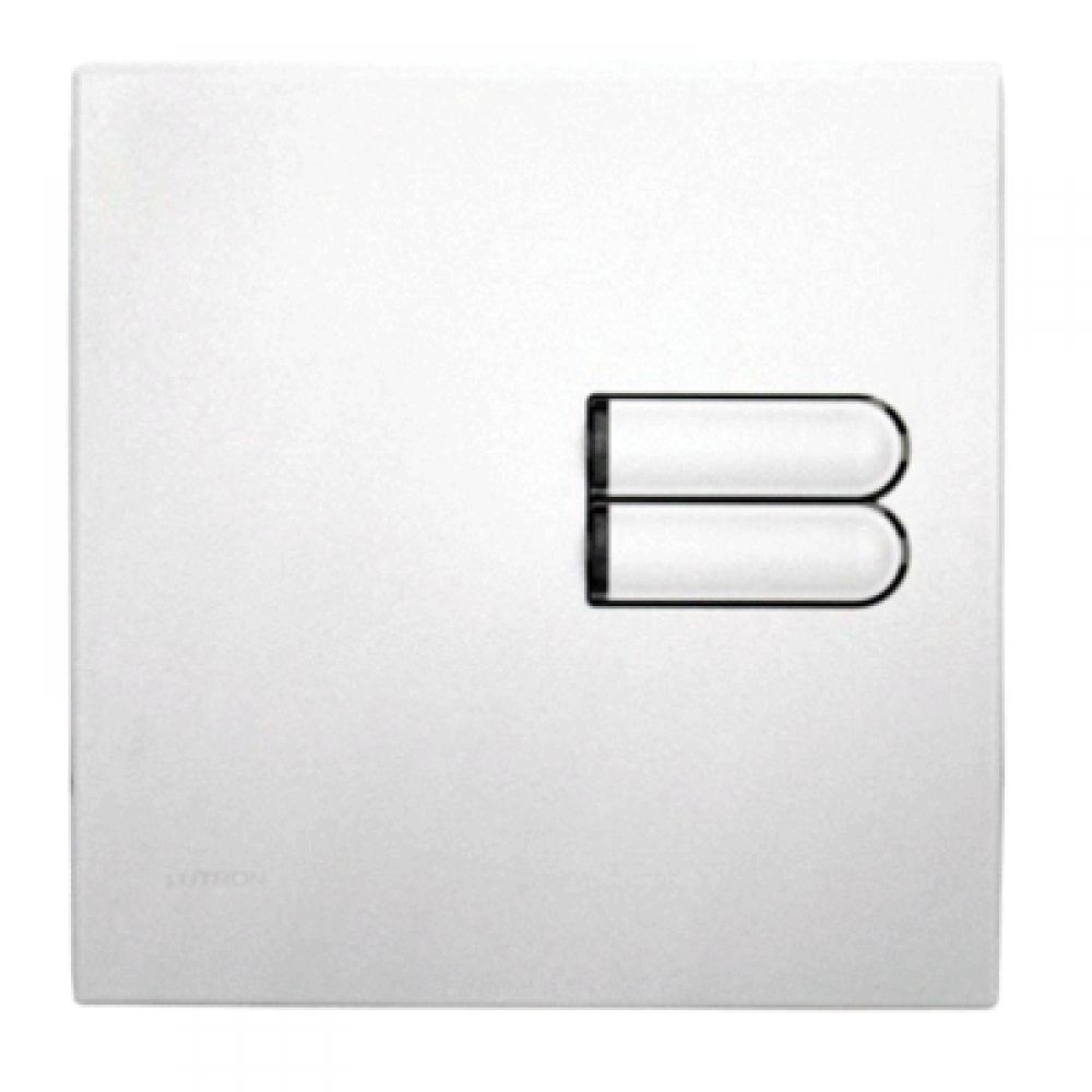 Lutron Euro Style GRX Wall Station 2 Button for Grafik Eye Integrale and 3000 models in White