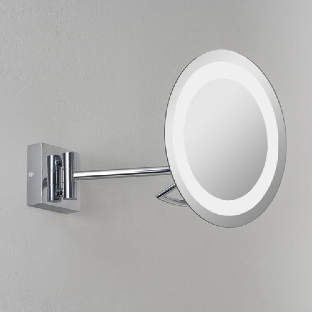 Astro Lighting 1097002 Gena Plus 0526 Bathroom Magnifying Mirror. Polished Chrome Finish.