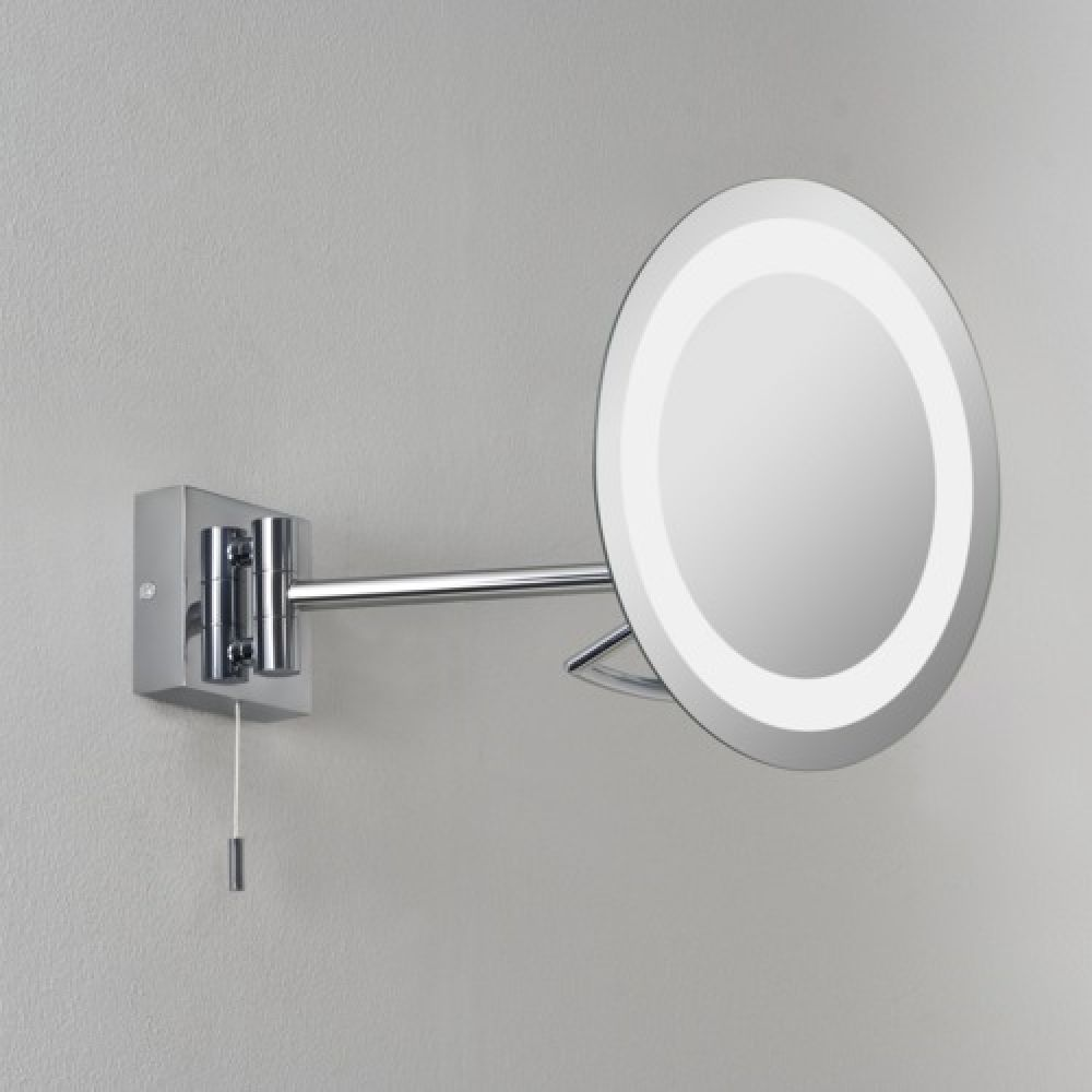 Astro Lighting 1097001 Gena 0488 Bathroom Magnifying Mirror. Polished Chrome Finish.