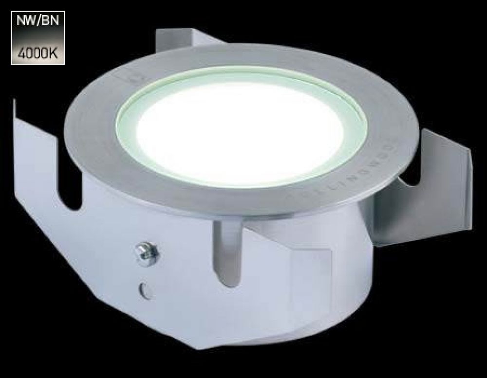 Collingwood 3W LED Ground Light Stainless Steel with Natural White 4000K LED