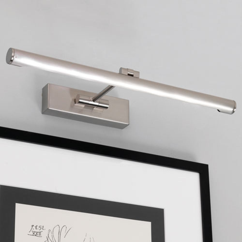 Astro Lighting 1115007 Goya LED 460 0873 Interior Picture Light. Brushed Nickel Finish