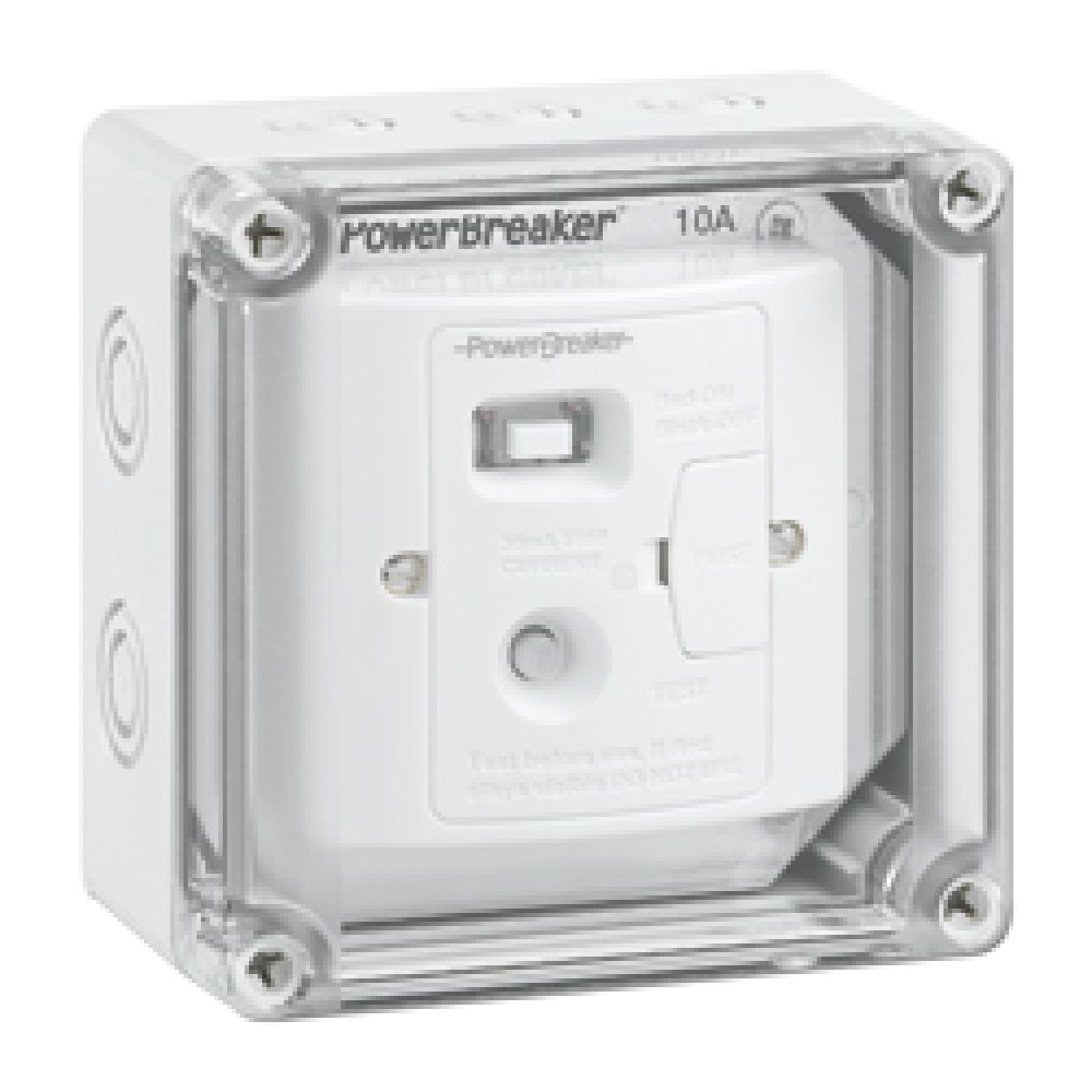 Greenbrook PowerBreaker IP67 Weatherproof RCD Spur Unit