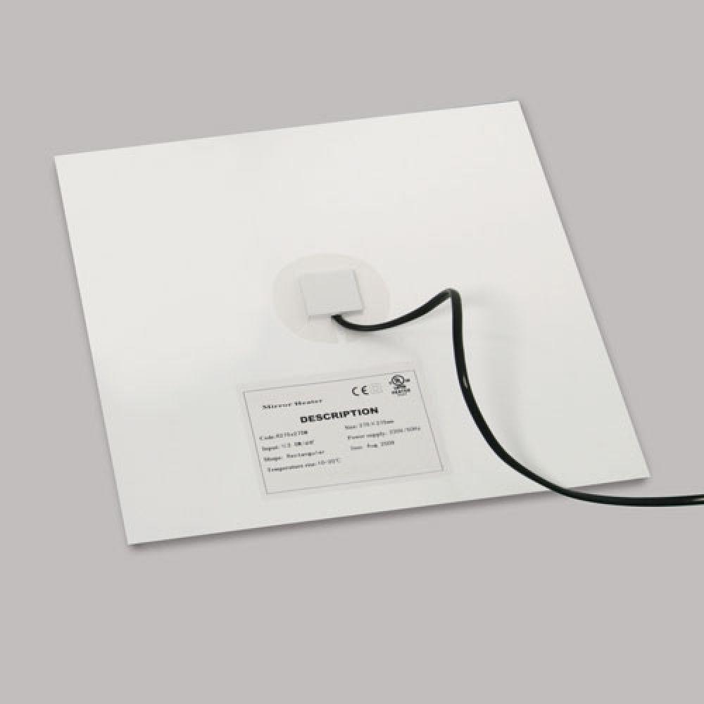 Astro Lighting 6018002 Heated De-mister Pad 1546. Eliminates condensation and misting on bathroom mi