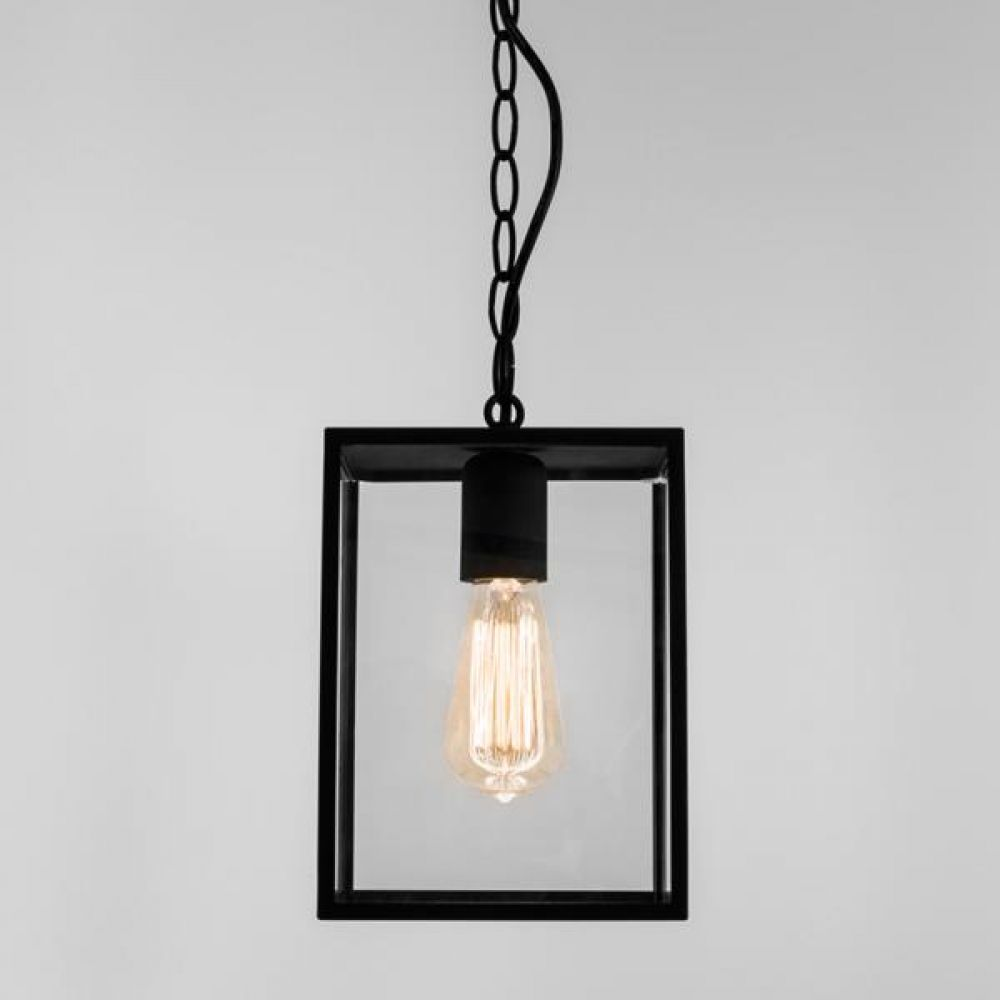Astro Lighting 1095010 Homefield Pendant 7207 Exterior Light. Black Finish