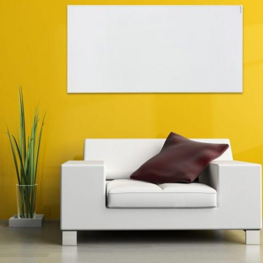 Herschel 700W Select White Framed Infrared Panel Heater