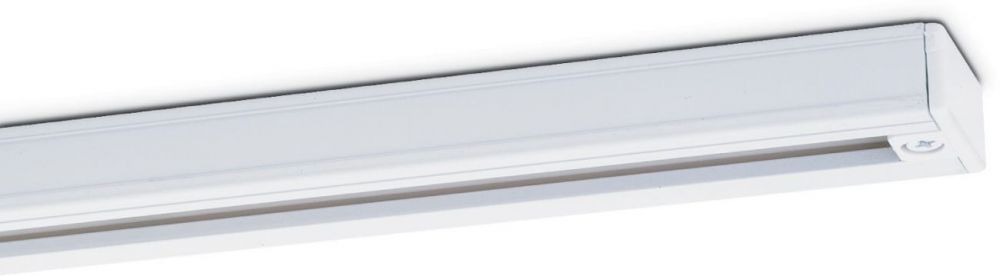 JCC Single circuit 510mm track section - White