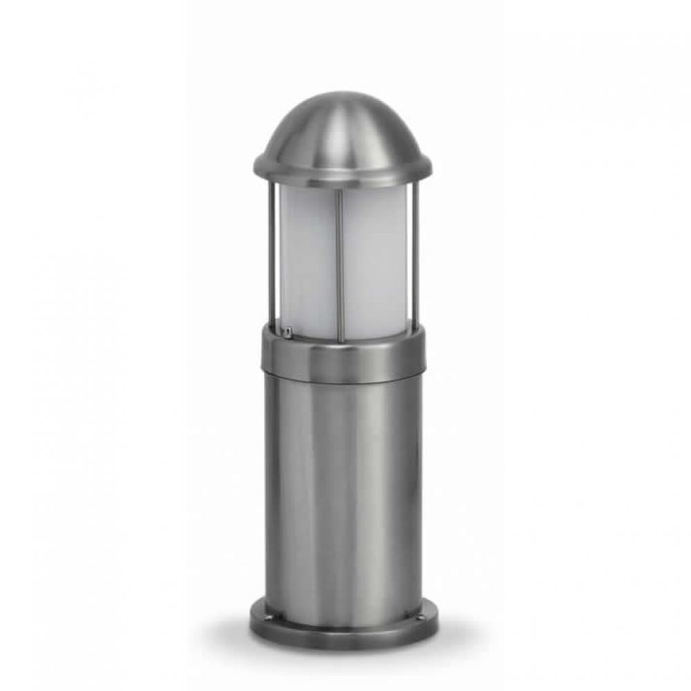 JCC NiteLED Dome Bollard Plain 475mm - Stainless Steel