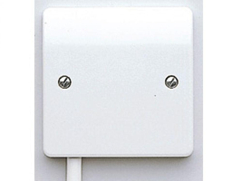 MK Logic Plus K1090WHI White Flex Outlet Frontplate 20A