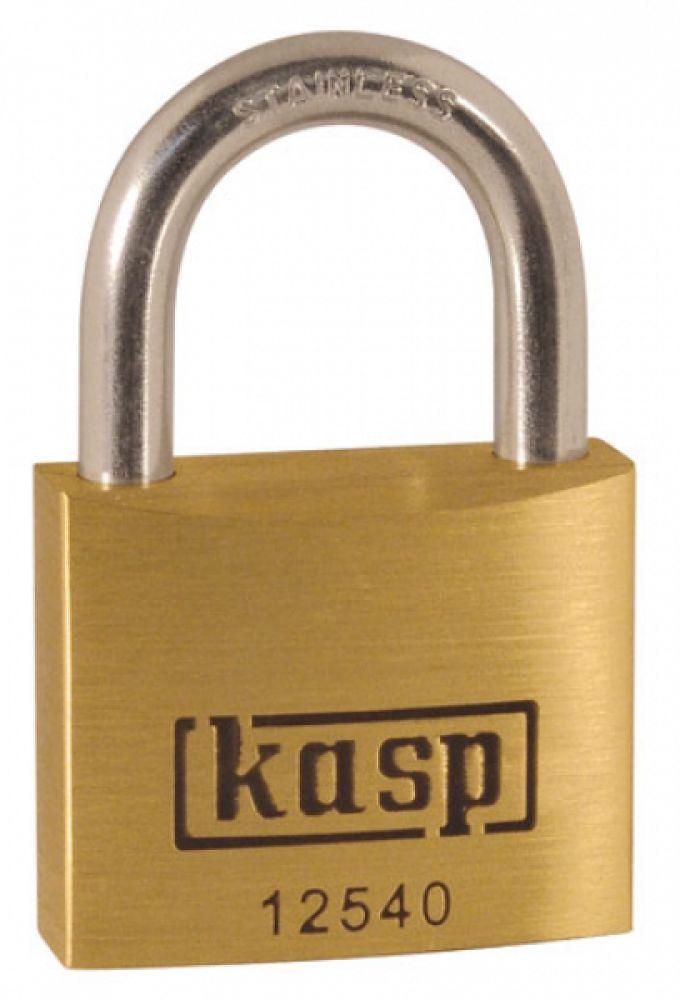 CK Kasp 40mm Premium Brass Padlock - Stainless Steel Shackle
