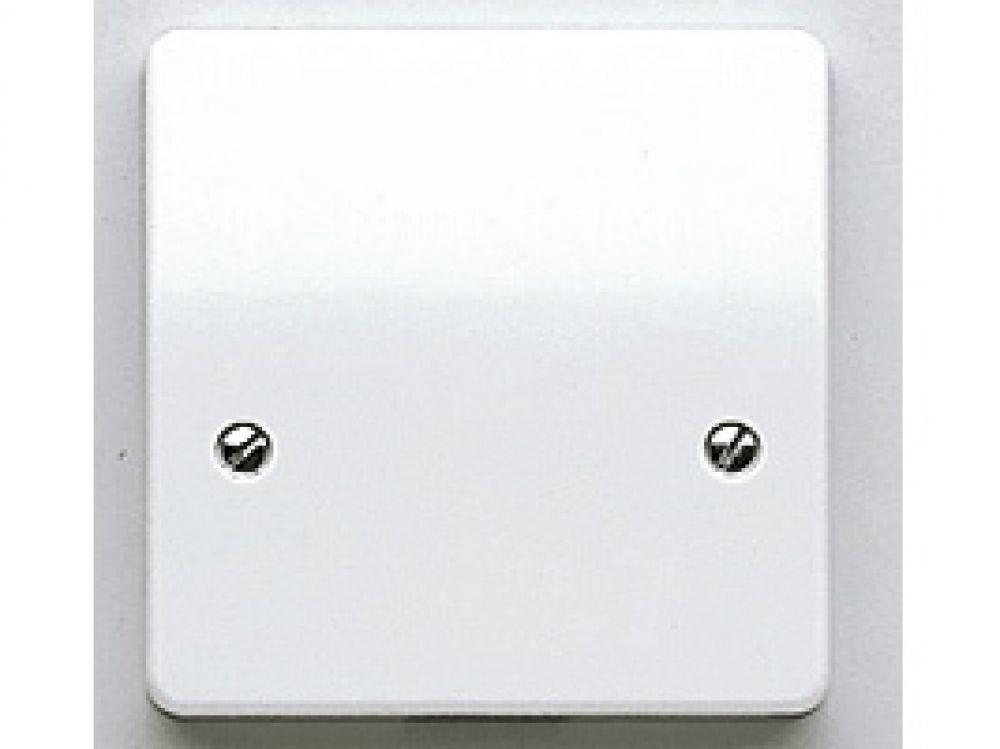 MK Logic Plus K3827WHI White 1 Gang Blank Plate