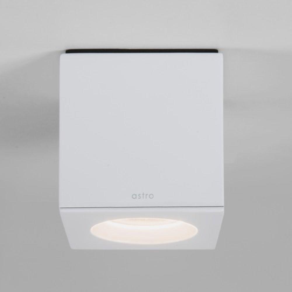 Astro Lighting 1326008 Kos Square 7511 Interior Ceiling Light. White Finish