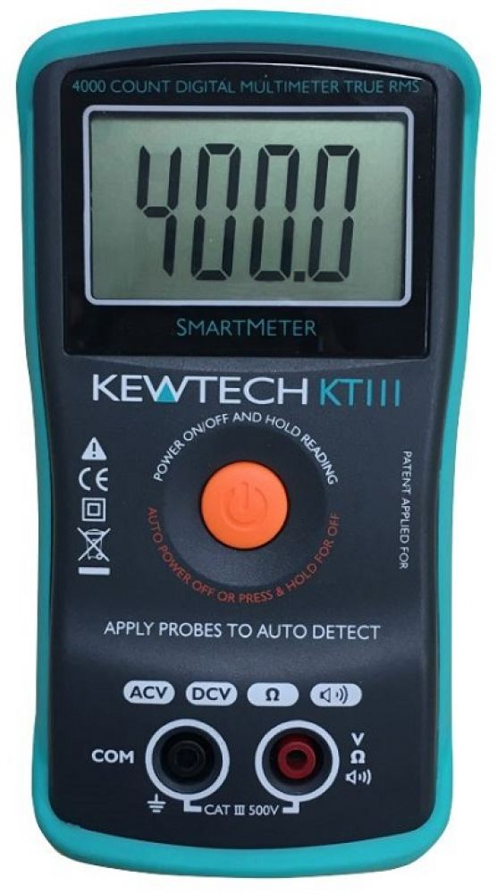 Kewtech 500V TRMS Digital Multimeter