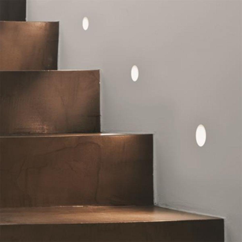 Astro Lighting 1342002 Leros Trimless 7418 Plastered In LED Wall Light