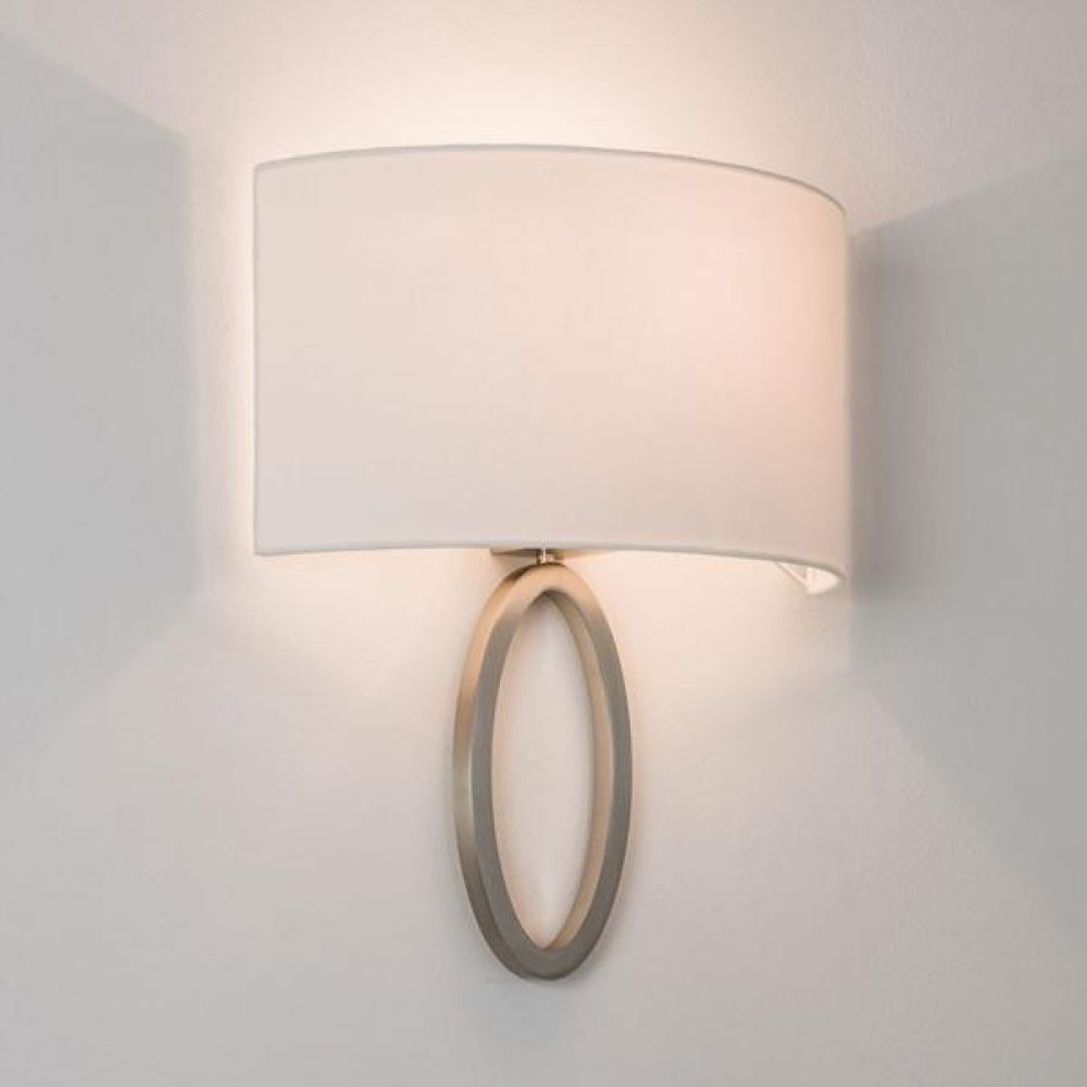Astro Lighting 1318002 Lima 7150 Interior Wall Light. Matt Nickel Finish