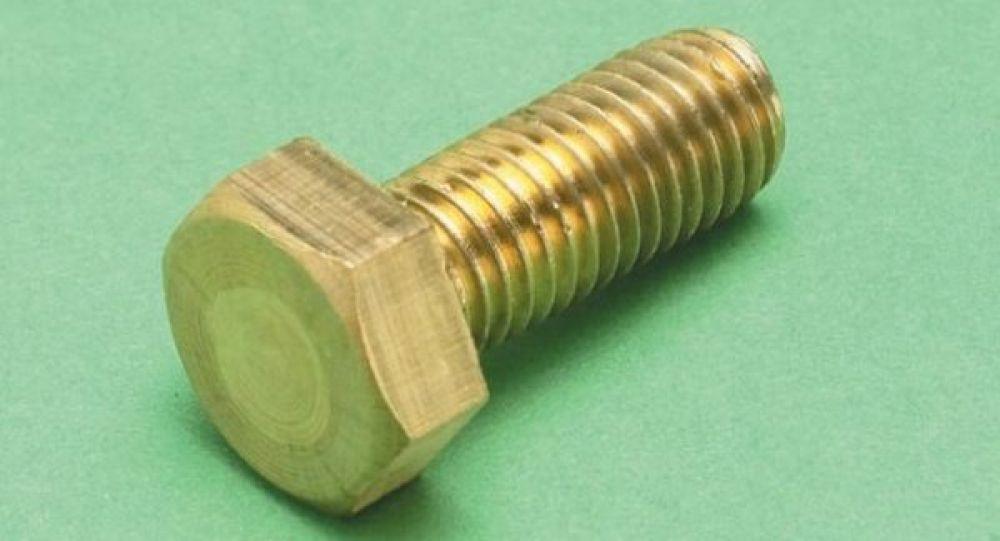 Brass Bolt M10 x 25mm (Sold Each)