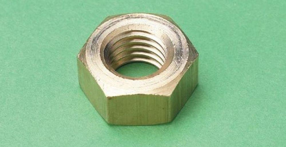 Brass Nut M6 (Sold Each)