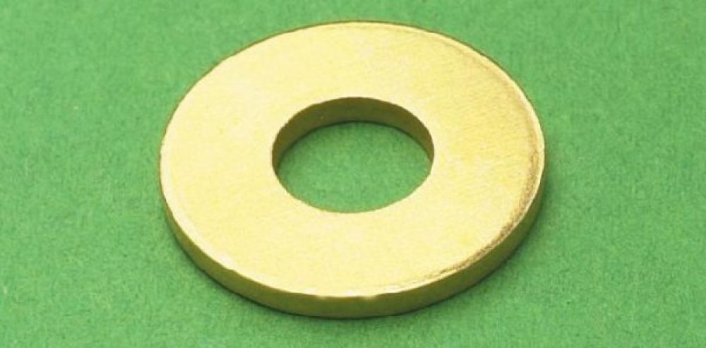 Brass Washers M6 (Sold Each)
