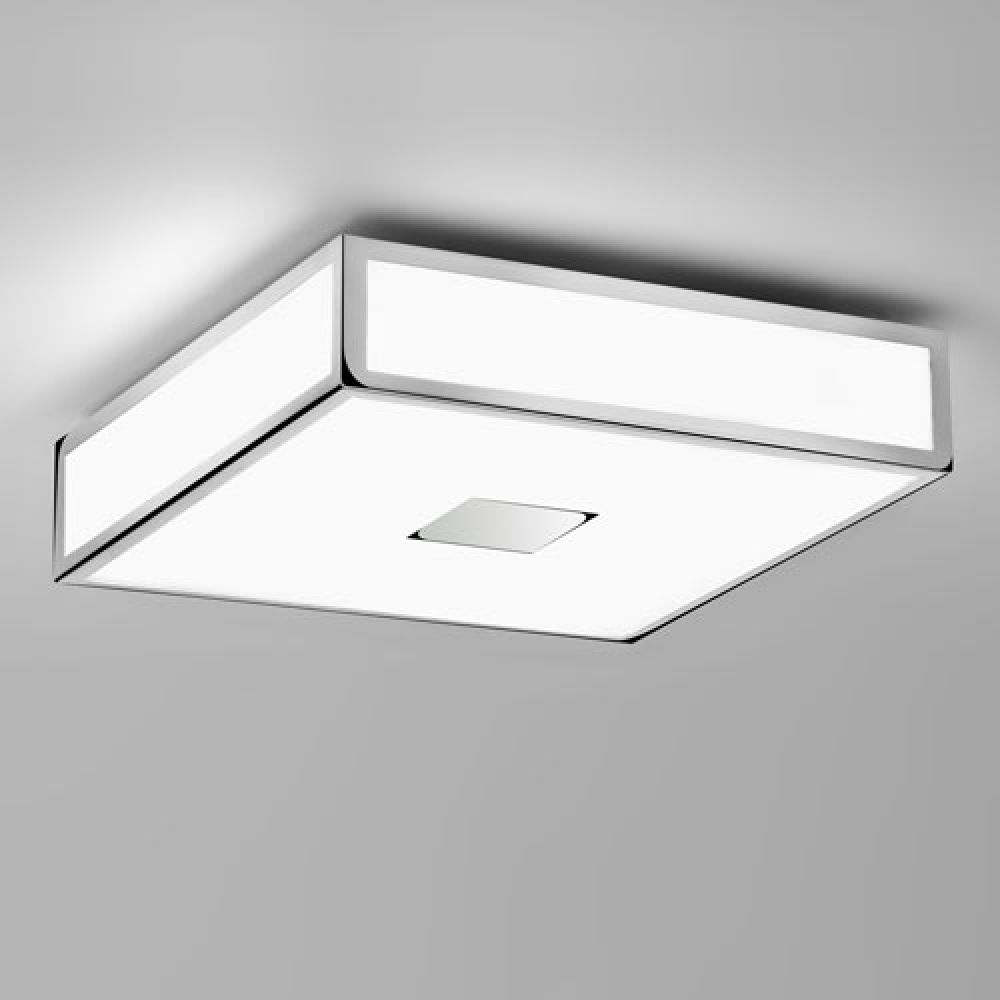 Astro Lighting 1121005 Mashiko 300 0681 Bathroom Ceiling Light. Polished Chrome Finish