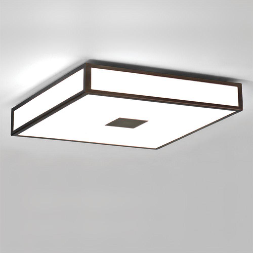 Astro Lighting 1121013 Mashiko 400 0969 Bathroom Ceiling Light. Bronze Finish