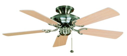 Fantasia Mayfair Stainless Steel Ceiling Fan 107cm / 42""