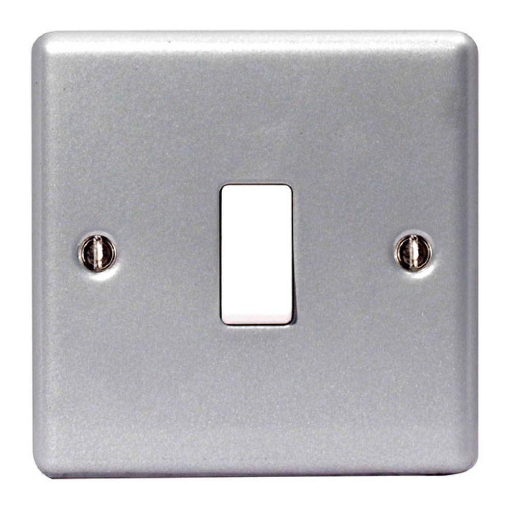 BG Metal Clad 1 Gang 2W 10AX Switch