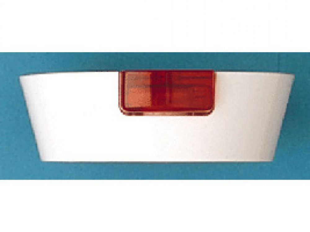 MK 2056WHI White Mounting Block c/w Neon