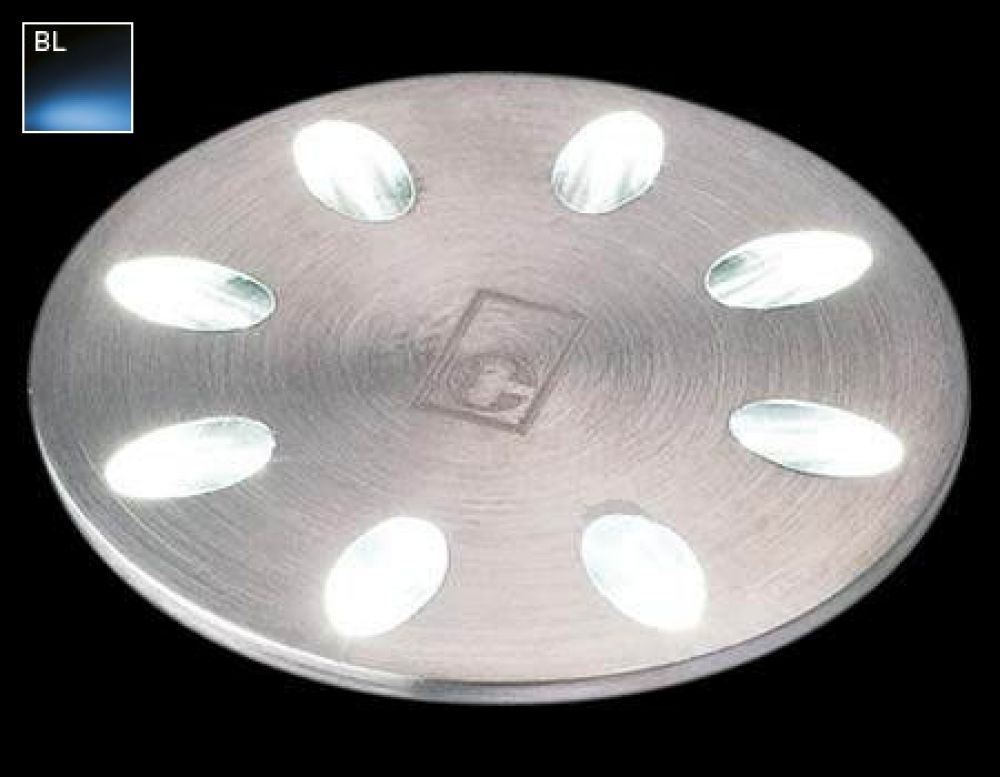 Collingwood 1W Decorative LED Mini Light Stainless Steel with Blue LED