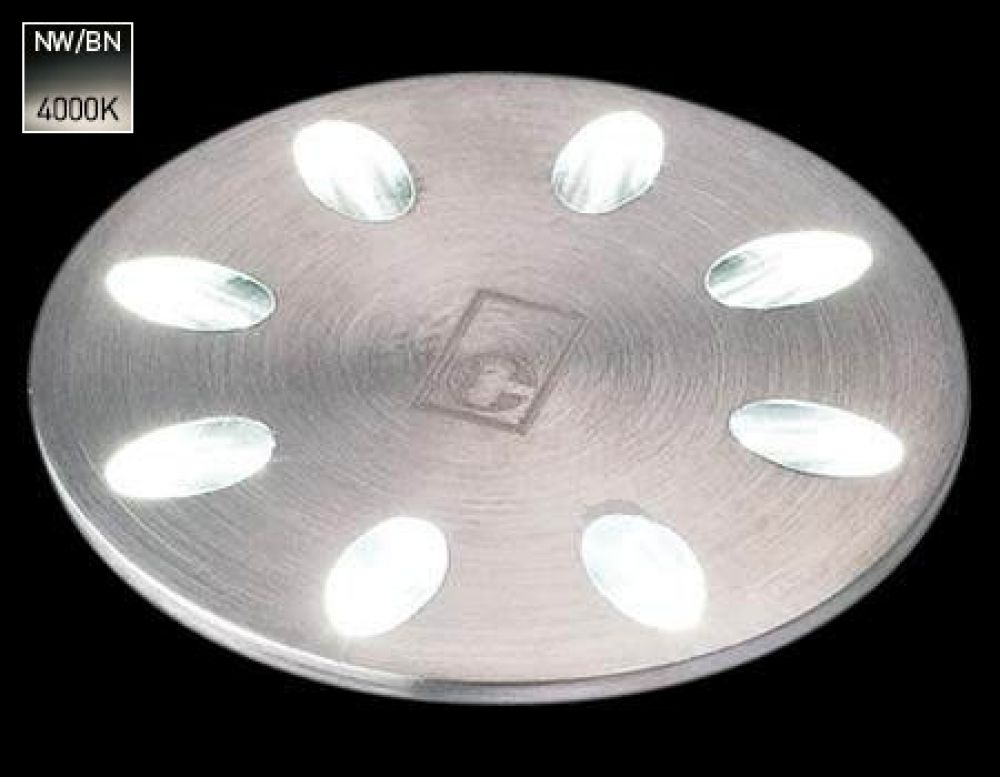 Collingwood 1W Decorative LED Mini Light Stainless Steel with Natural White 4000K LED