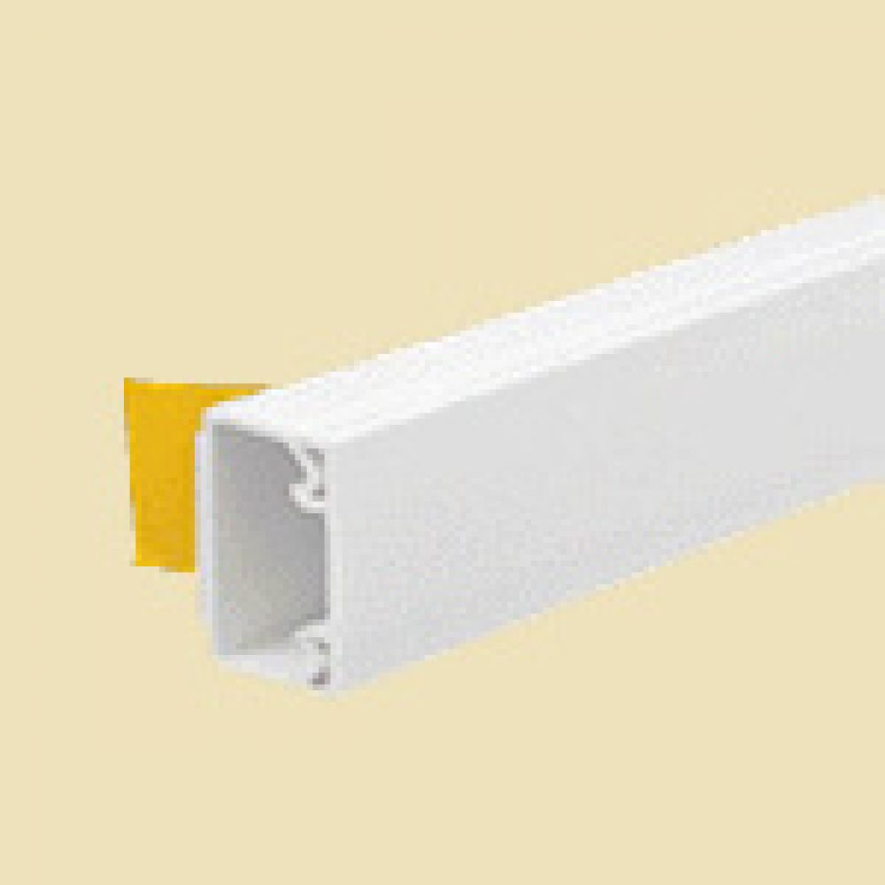Self Adhesive Mini Trunking Length 25 x 16mm x 3m Length