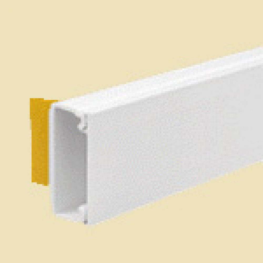 Self Adhesive Mini Trunking Length 38 x 16mm x 3m Length