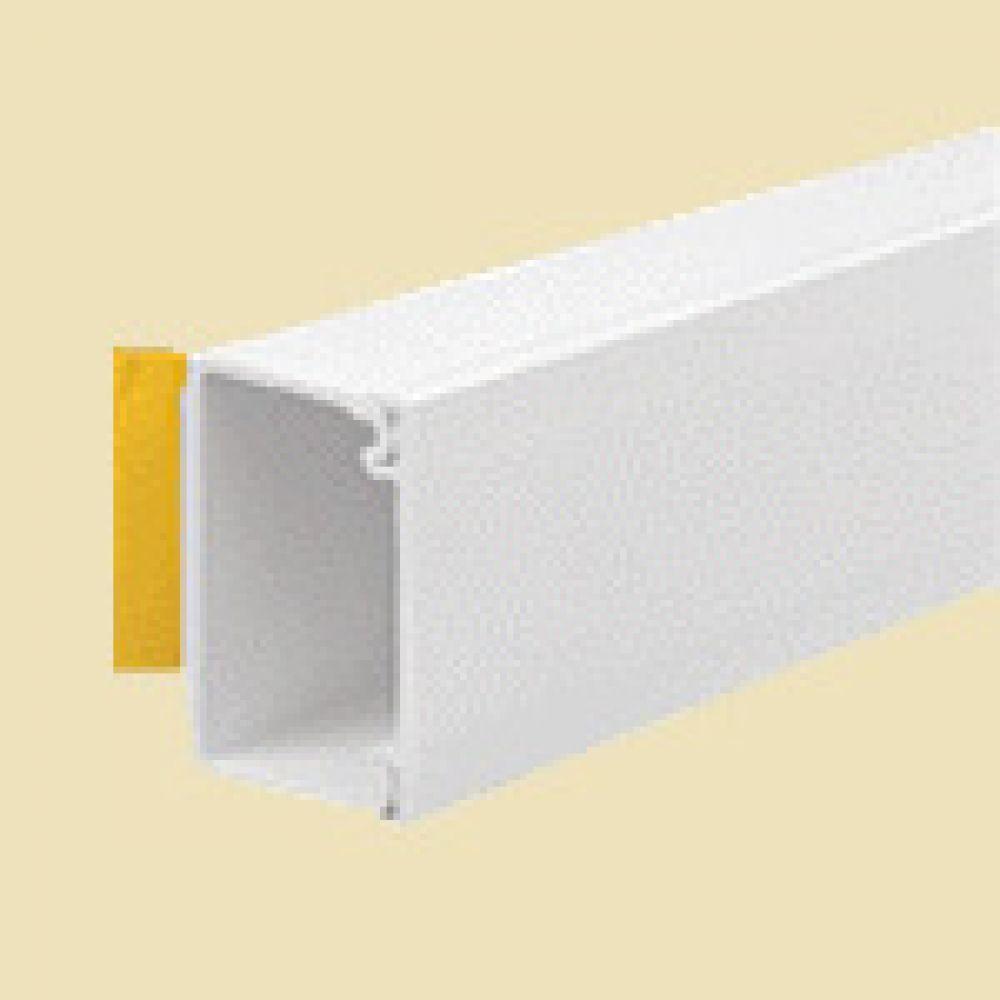 Self Adhesive Mini Trunking Length 38 x 25mm x 3m Length