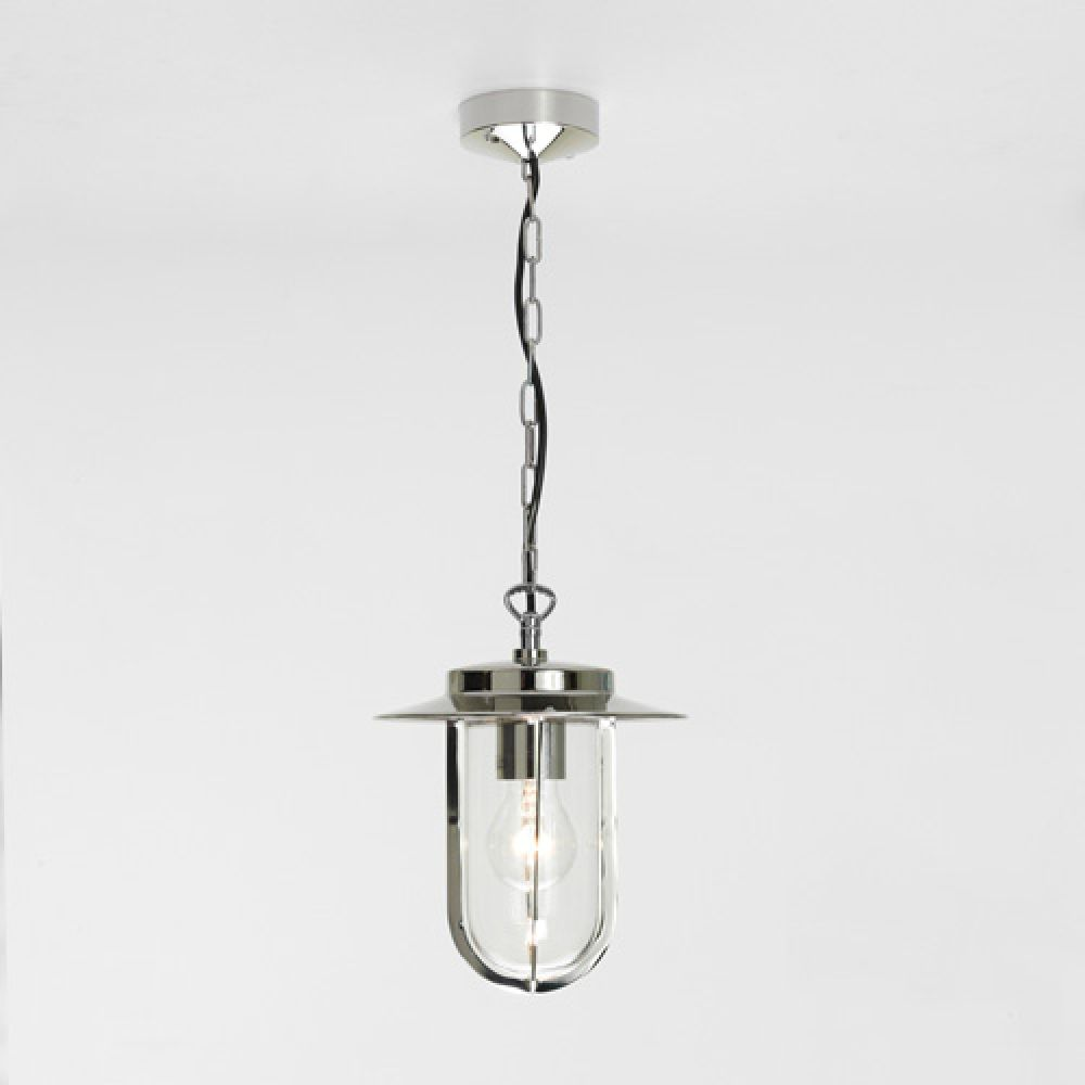 Astro Lighting 1096004 Montparnasse Pendant 0671 Exterior Light. Polished Nickel Finish