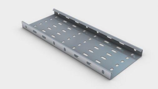 Unitrunk Pre-Galvanised Medium Duty Cable Tray 100mm x 3m Length
