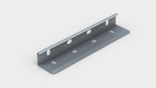 Unitrunk Pre-Galvanised Medium Duty Cable Tray Couplers (Supplied as a Pair)