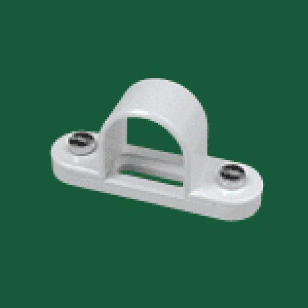 Marshall Tufflex White PVC Spacer Bar Saddle 25mm