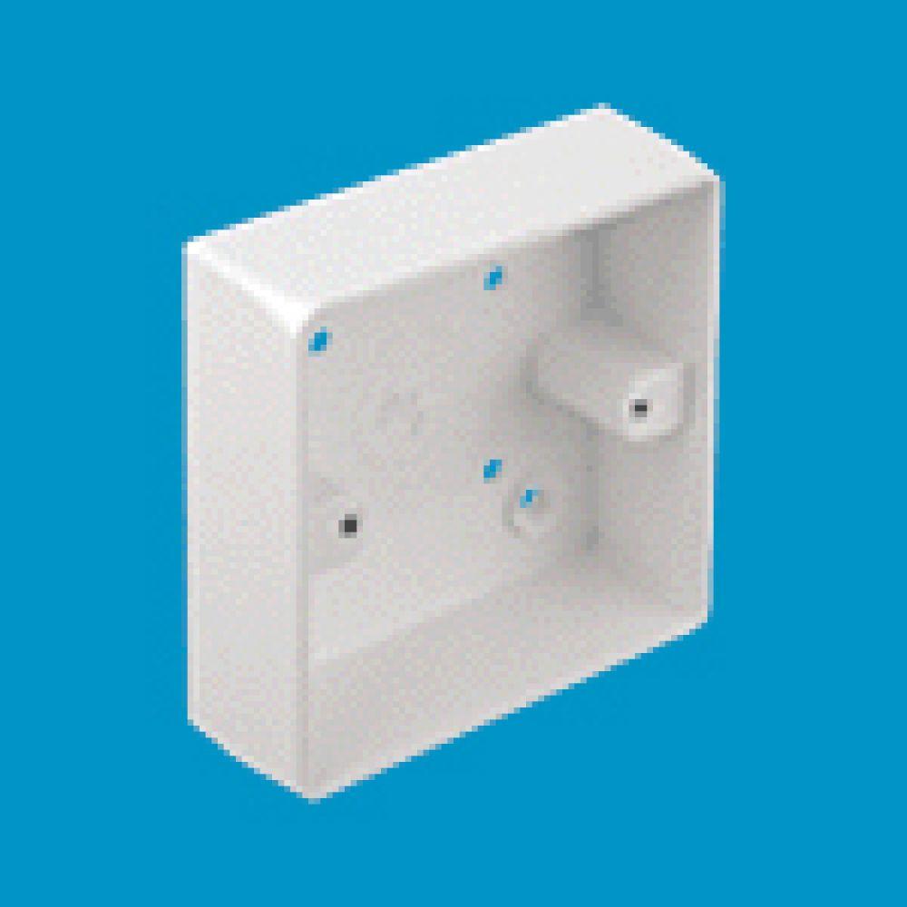 Marshall Tufflex 1 Gang Conduit Mounting Box c/w Radius Corners 32mm
