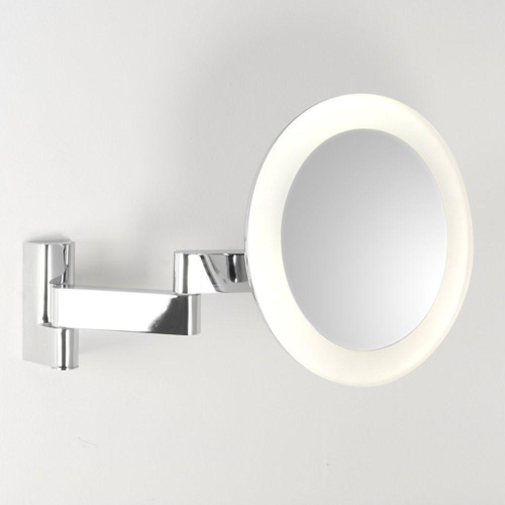 Astro Lighting 1163001 Niimi Round 0760 Bathroom Illuminated Magnifying Mirror