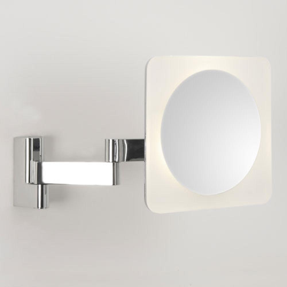 Astro Lighting 1163002 Niimi Square 0815 Bathroom Illuminated Magnifying Mirror