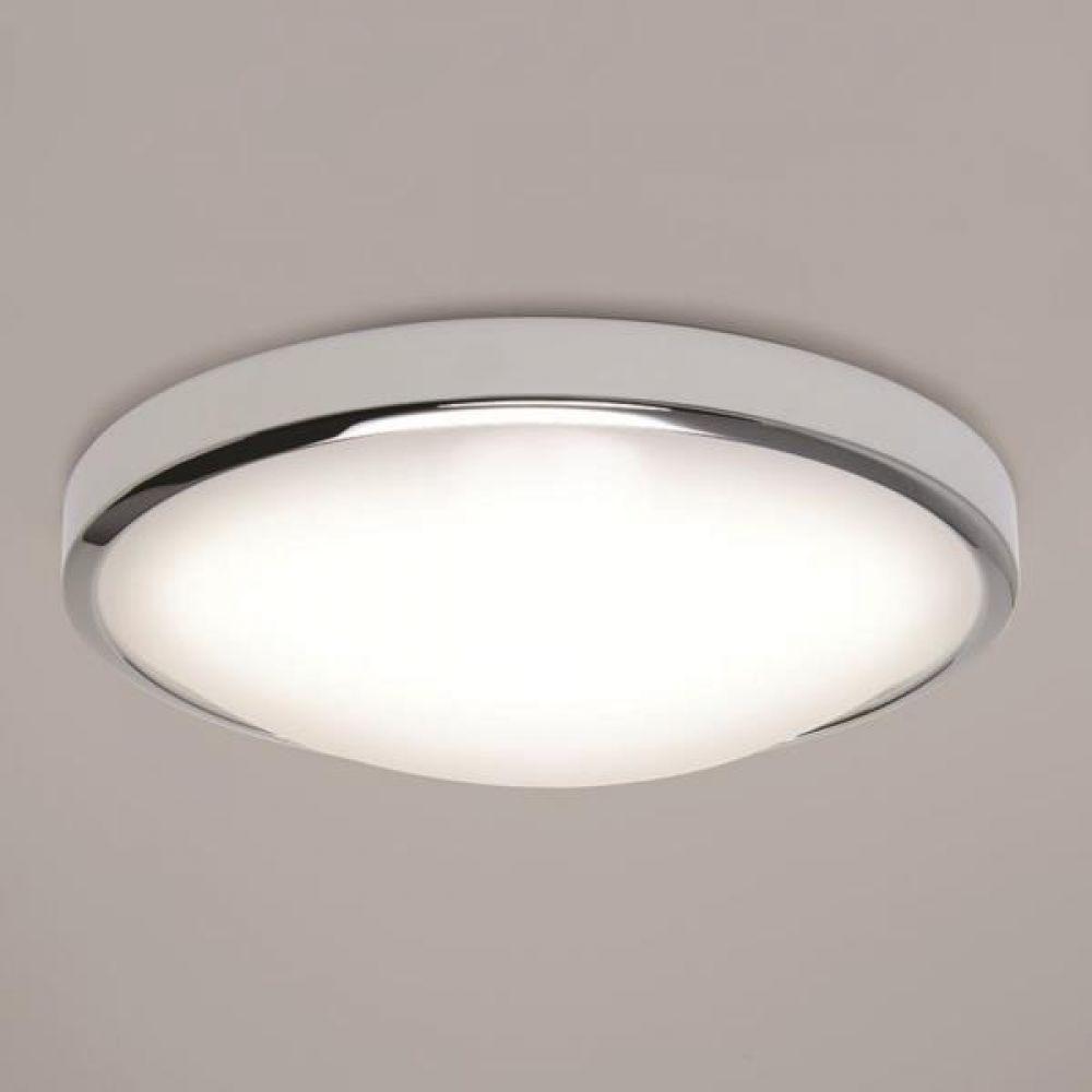 Astro Lighting 1061006 Osaka 350 7412 LED Bathroom Ceiling Light. Polished Chrome Finish